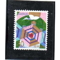 Япония.Ми-2367. Кран и черепаха. 1996.