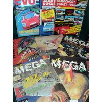 Журналы, MEGA, EVO