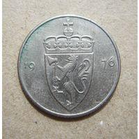 Норвегия 50 эре 1976