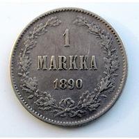 1 марка 1890 РЕДКИЙ ТИП