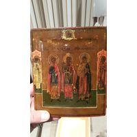 Икона Избранные святые 19 век