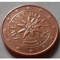 2 евроцента, Австрия 2004 г.