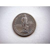 США, 1/2  доллара 1925г.  Сражения при Лексингтоне и Конкорде  (серебро)