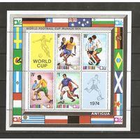 Антигуа 1974 Чемпионат мира по футболу