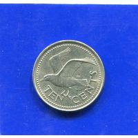 Барбадос 10 центов 1973