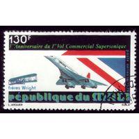 1 марка 1979 год Мали Самолёт 678