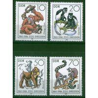 Германия, ГДР 1986 г. Mi#3019-3022** чистая полная серия (MNH)