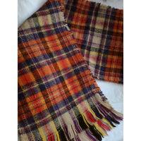 Красивый и теплый шарф ,шерсть