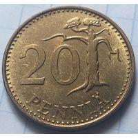 Финляндия 20 пенни, 1969           ( 6-8-3 )