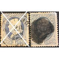 ЦІКАВІЦЬ АБМЕН! 1870 WASHINGTON 1 цэнт