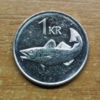 Исландия 1 крона 2006 (1)