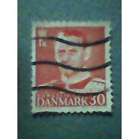 Дания. Фредерик 9. 1952г. гашеная