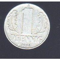 1 пфенниг Германия 1968_Лот #0383