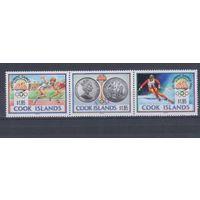 [1751] Кука 1990. Спорт.Олимпийские игры. СЕРИЯ MNH