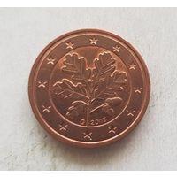 2 евроцента 2015 Германия G