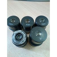 Окуляры к микроскопу МБС-1, количество 5 шт (12,5-3 шт, 6; 8) по 5.00 руб за шт