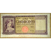 500 лир 1947г