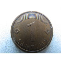 Латвия 1 сантим 2007 г.