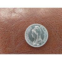 1 франк 1992 Франция ( 200 лет Французской Республике )