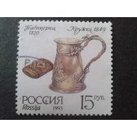 Россия 1993 табакерка, серебро