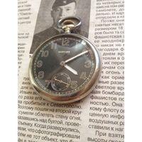 Карманные военные часы Glycine 1940-е годы