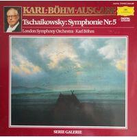 P. Tschaikovsky /Symphonie 5 e-moll op.64/1981, DG, LP, NM, Book