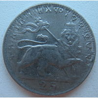 Эфиопия 25 матон 1931 г.