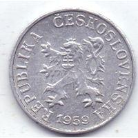 Чехословакия, 1 геллер 1959 года.