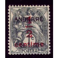 1 марка 1931 год Андорра 1