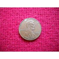 США 1 цент 1994 г.