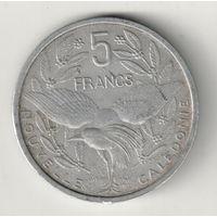 Новая Каледония 5 франк 1952