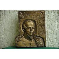 Панно  М.Ю. Лермонтов   ( 17 х 20,5 см )