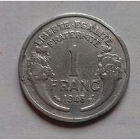 1 франк, Франция 1948 г.