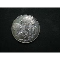 Каймановы острова 50 центов 1973 г.