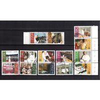 Польша-2003 (Мих.4018)  гаш. , 14 марок, Известные люди ,Религия, Павел II