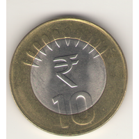 10 рупий 2012 г. МД: Нойда.