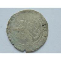 Пражский грош. Вацлав IV (1378-1419г.) Серебро.