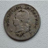 Аргентина 5 сентаво, 1906 6-3-57