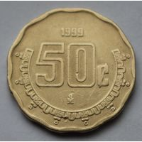 Мексика, 50 сентаво 1999 г.