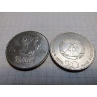Германия (ГДР) 20 марок, 1972, Фридрих фон Шиллер