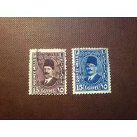 Египет 1927/31 гг.Король Ахмед Фуад I.