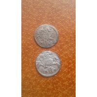 ВКЛ 1620 года. Цена за 2 монеты