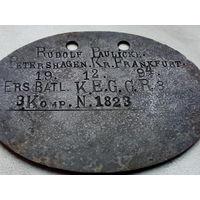 Жетон ПМВ 3 -его королевы Елизаветы Гвардейского гренадерского полка