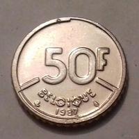 50 франков, Бельгия 1987 г.