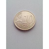 10 евроцентов 2015 г. Литва.
