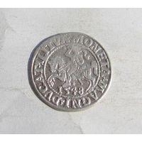 Полугрош Литовский 1548г.Сигизмунд ll Август