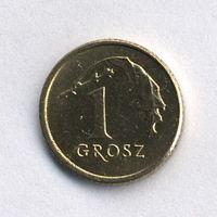 Польша, 1 грош 2000 г.