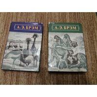 Брэм Жизнь животных 1 и 2 том (млекопитающие и птицы). Цена за два тома
