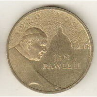 Польша 2 злотый 2005 Папа римский Иоанн Павел II