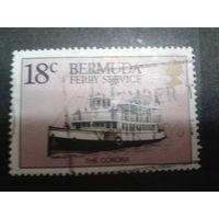 Бермуды 1989 колония Англии пароход